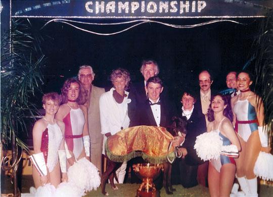 Busy Vintage presentation Harold Park, National Sprint Final