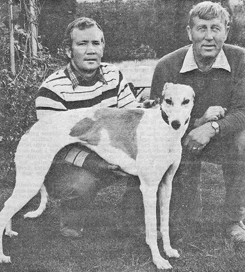 Butch and Bill with Miss Coroneagh