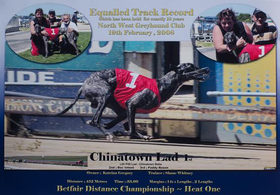 Chinatown Lad Devonport track record