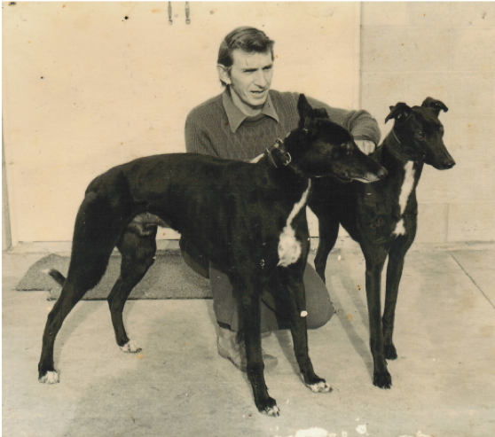 Summerdown Chief with Hall of Fame son Highland Summer