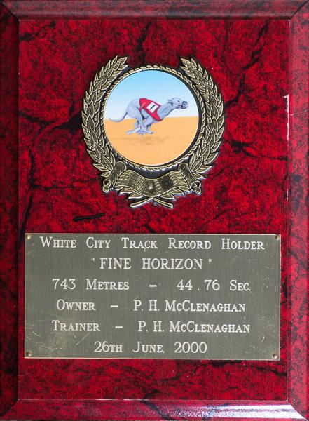 743 metre record plaque