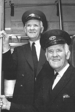 Twins in Tram Uniforms